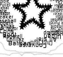 Converse Typography Sticker