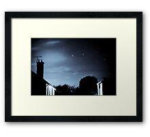 Bungalow stars Framed Print