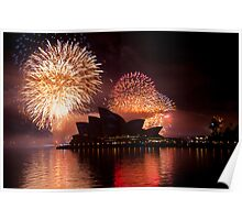 Opera House Sillhouette Poster