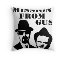 Blue Brothers (On a mission from Gus) Throw Pillow