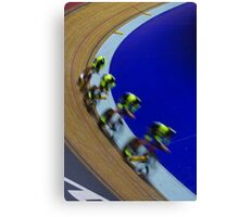British championships track cycling  Canvas Print