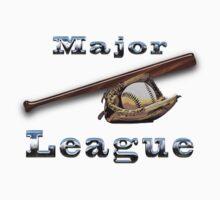 Major League Baseball t-shirt by nhk999