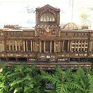 Model Original Pennsylvania Station, New York Botanical Garden Holiday Train Show, Bronx, New York  by lenspiro