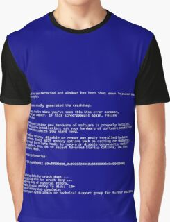 BSOD (Blue Screen Of Death) Graphic T-Shirt