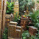 Model Radio City Music Hall, New York Botanical Garden Holiday Train Show, Bronx, New York by lenspiro