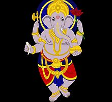 Ganesha iPhone case by steegeschnoeber