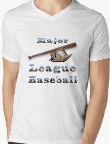 Major League Baseball t-shirt MLB Mens V-Neck T-Shirt