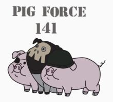 Pig force 141 by PrettyPenny