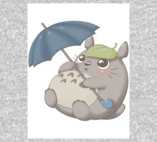 Rainy Day Totoro One Piece - Long Sleeve