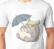 Rainy Day Totoro Unisex T-Shirt