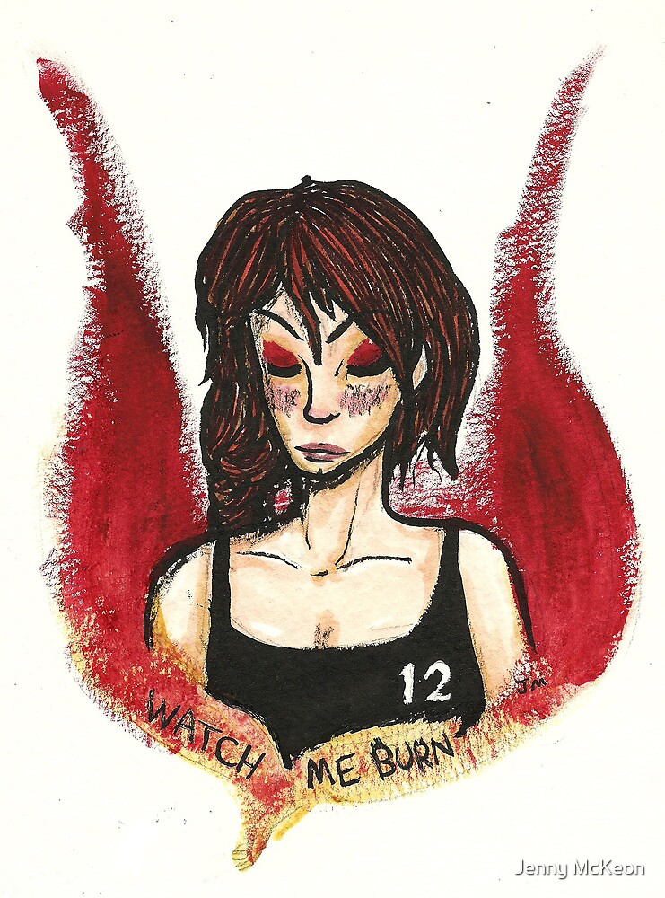 Girl on Fire by Jenny McKeon