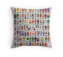 8-bit Masters expanded set Throw Pillow
