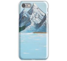 high mountain valley lake iPhone Case/Skin
