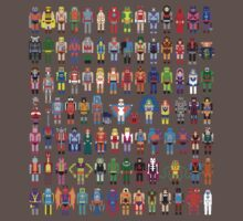 8-bit Masters expanded set One Piece - Short Sleeve
