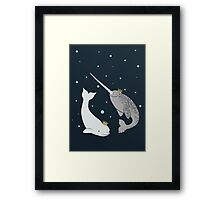 Prince and Princess of Whales Framed Print