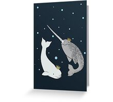 Prince and Princess of Whales Greeting Card