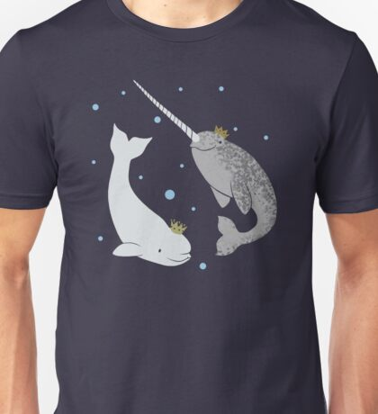 Prince and Princess of Whales Unisex T-Shirt