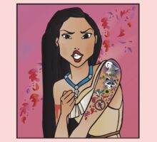 Disney Princesses with attitude - Pocahontas Kids Clothes