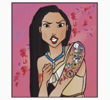Disney Princesses with attitude - Pocahontas Kids Clothes
