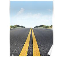 Empty Road Poster