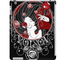 Poison - Black Rose Full Illustration iPad Case/Skin