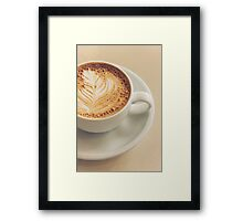 A Cup of Coffee Framed Print