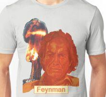 Richard Feynman with name Unisex T-Shirt