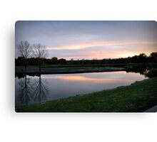 Twin Lakes Canvas Print