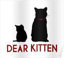 Dear kitten... Poster