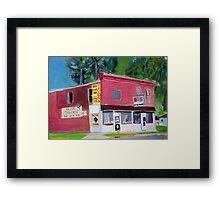 Past Time Tavern Framed Print