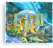 EVO Search for Eden Canvas Print