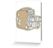 Vintage Camera Greeting Card