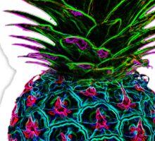 Neon Pineapple Sticker