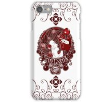 Poison - Blood Rose on White iPhone Case/Skin