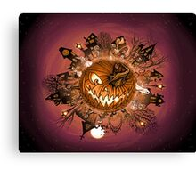 March of the Creeps  Canvas Print