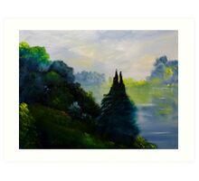Quill Lake Art Print