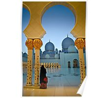 Sheikh Zayed Grand Mosque 5 Poster