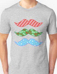 Merry 'Stache Mas  Unisex T-Shirt