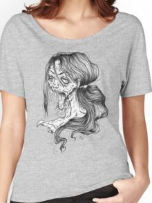 Shut Your Mouth Zombie (White) Women's Relaxed Fit T-Shirt