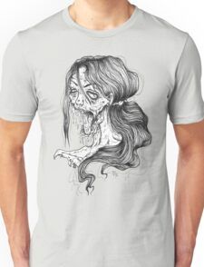 Shut Your Mouth Zombie (White) T-Shirt
