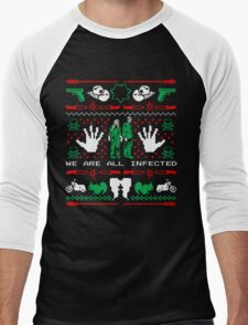 Zombie Holiday  Men's Baseball ¾ T-Shirt