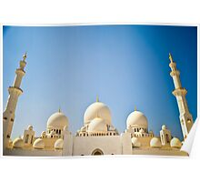 Sheikh Zayed Grand Mosque 6 Poster