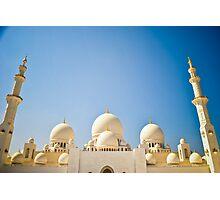 Sheikh Zayed Grand Mosque 6 Photographic Print