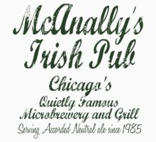 McAnally's Irish Pub Kids Clothes