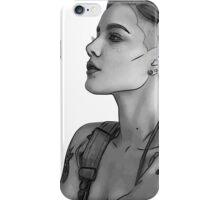 Halsey vector portrait iPhone Case/Skin