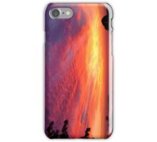 Explosion of clouds iPhone Case/Skin