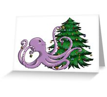 Octi Tree Greeting Card