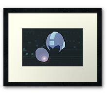 Megaman Weapons Framed Print