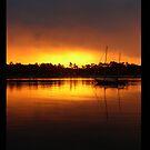 Boat Silhouette by Elisabeth Dubois
