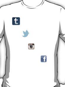 the social media ladder T-Shirt
